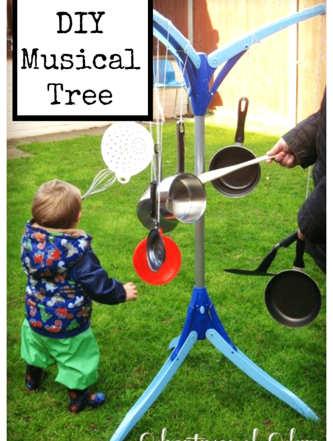 Musical Tree – Day 10 Toddler Play Challenge