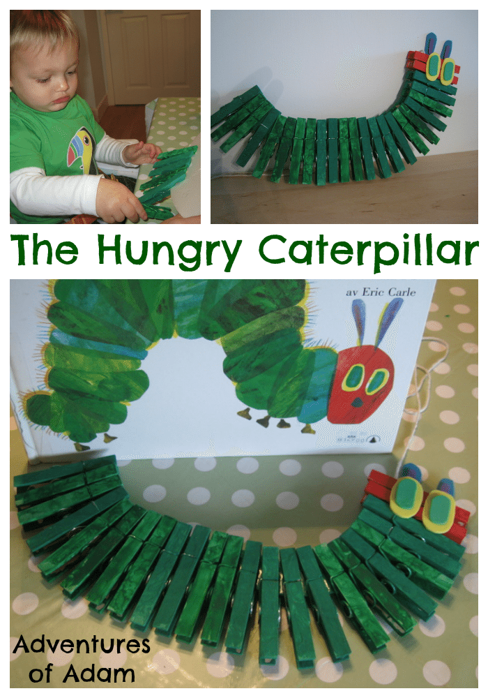 Hungry Caterpillar – Day 29 Play Challenge