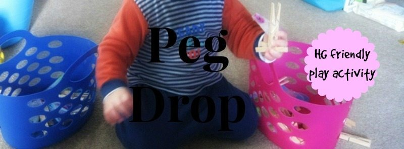 Peg Drop – Day 14 Toddler Play Challenge
