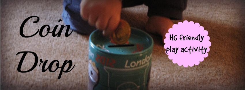 Coin Drop – Day 7 Toddler Play Challenge