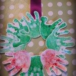 Adventures of Adam Handprint Wreath