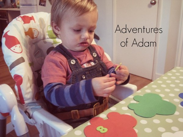 Adventures of Adam Number stickers