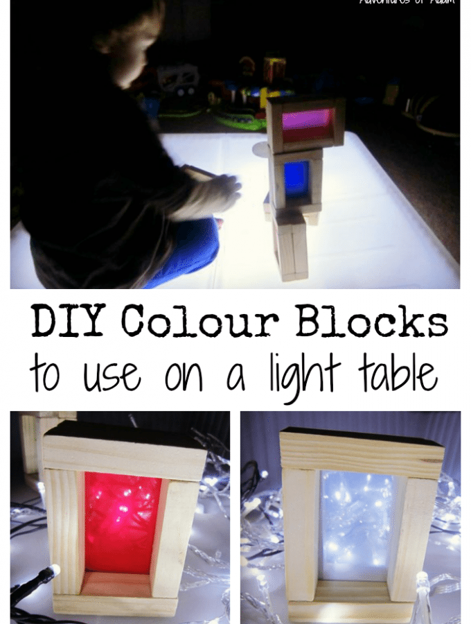 DIY Colour Blocks