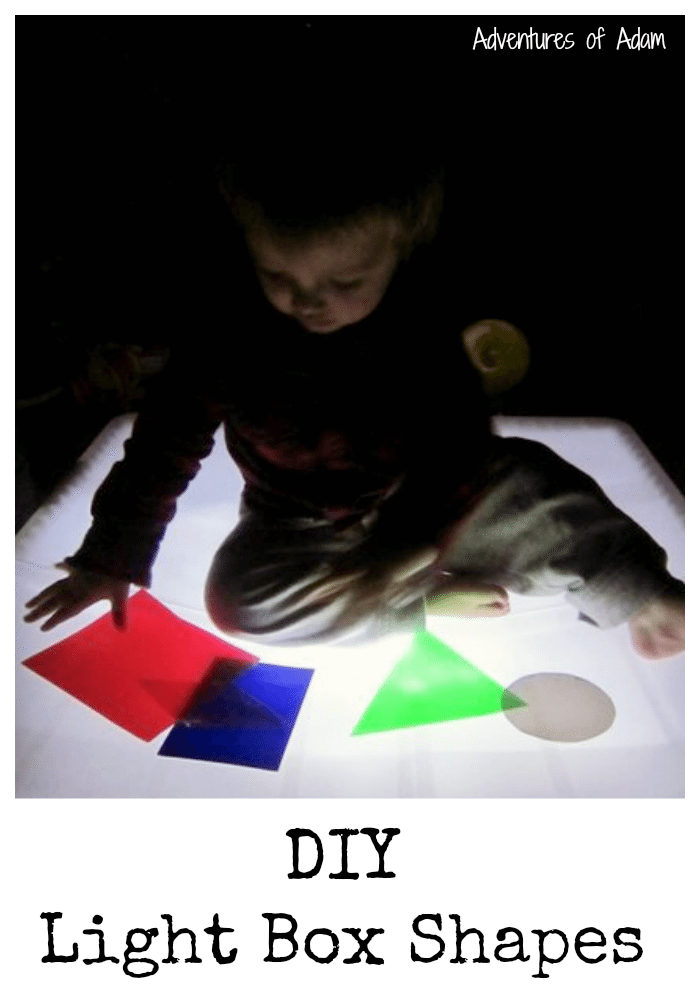 DIY Light Box Shapes