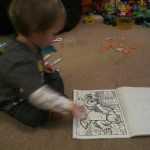 Adventures of Adam Colour Wonder Colouring
