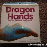Adventures of Adam Dragon hands Tattoos