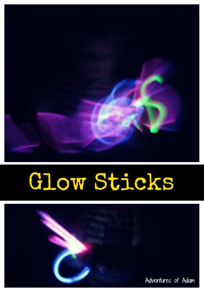Glow sticks play day 58 toddler play challenge for 13th floor glow stick