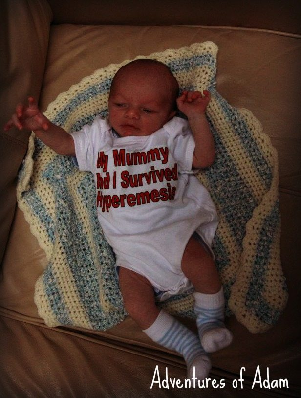 Adventures of Adam My Mummy and I survived Hyperemesis