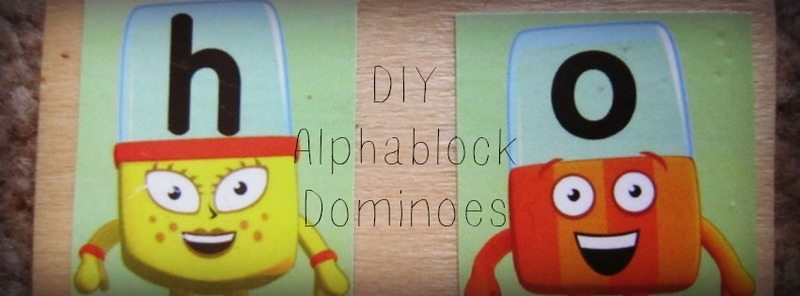 Adventures of Adam DIY Alphablocks