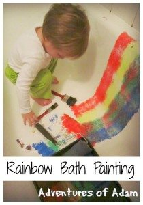 Adventures of Adam Rainbow Bath Painting