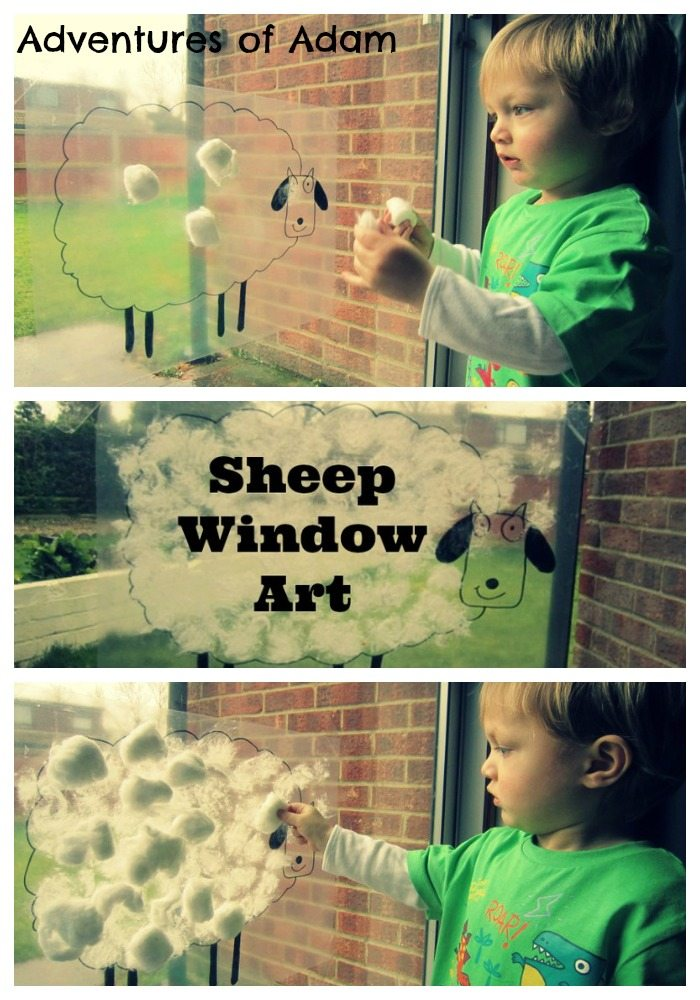 Adventures of Adam Sheep Window Art Adventures of Adam