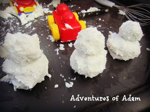 Adventures of Adam toddler play clean mud