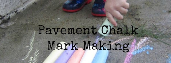 Adventures of Adam Pavement Chalk Mark Making