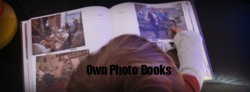 Adventures of Adam own photo book