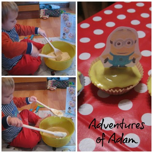 Adventures of Adam Minion Cakes