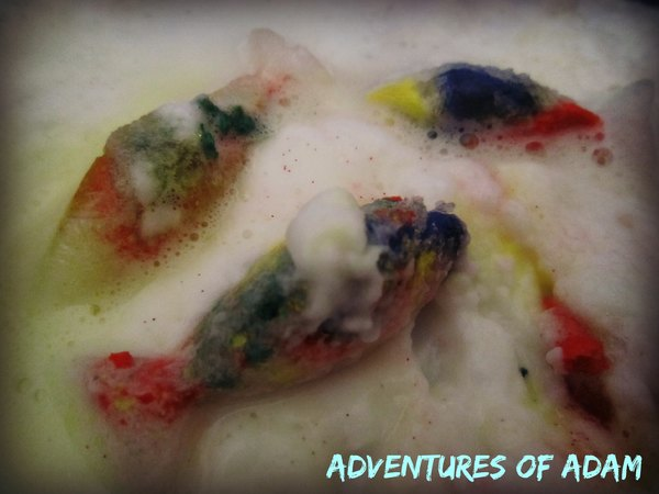 Adventures of Adam vinegar frozen fish