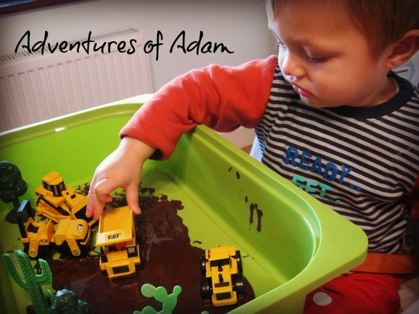 Adventures of Adam Construction Sensory Box