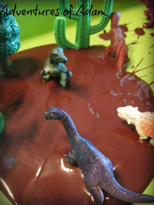 Adventures of Adam Dinosaur Sensory Box