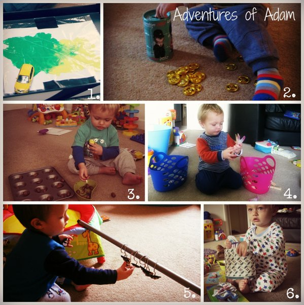 Adventures of Adam Play activities suitable for Hyperemesis sufferers