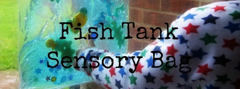 Fish Tank Sensory Bag – Day 11 Toddler Play Challenge