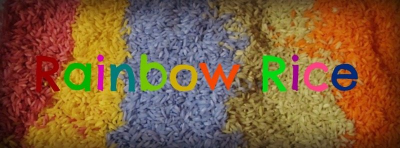 Rainbow Rice – Day 17 Toddler Play Challenge