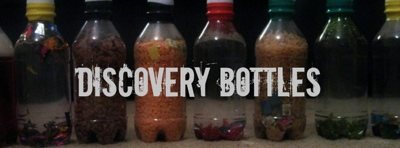 Discovery Bottles – Day 9 Toddler Play Challenge