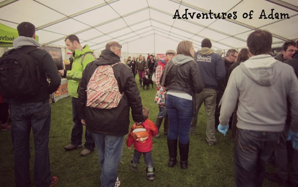 Adventures of Adam East Anglian Game and Country Fair Food Hall