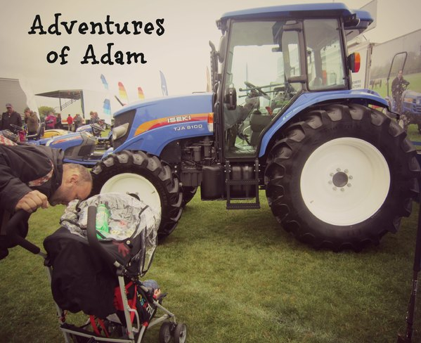 Adventures of Adam East Anglian Game and Country Fair tractors