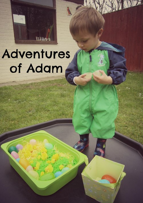 Adventures of Adam Plastic egg drop