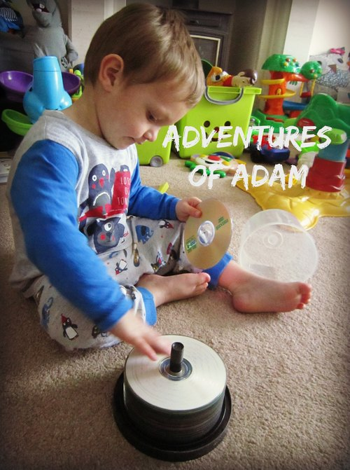 Adventures of Adam CD Stacking Fine Motor Skills