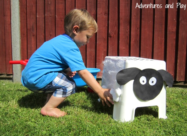 Cotton wool sheep activity