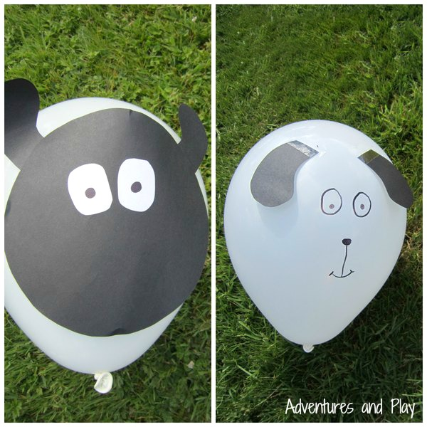 DIY Sheep balloon