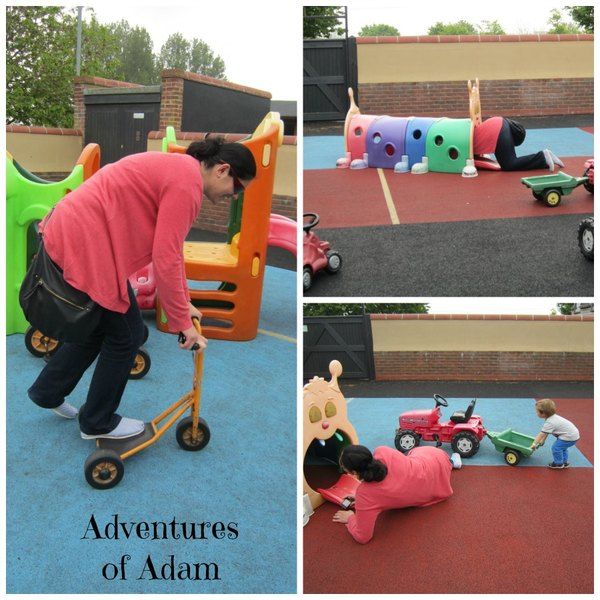 Adventures of Adam Big kids Playbarn