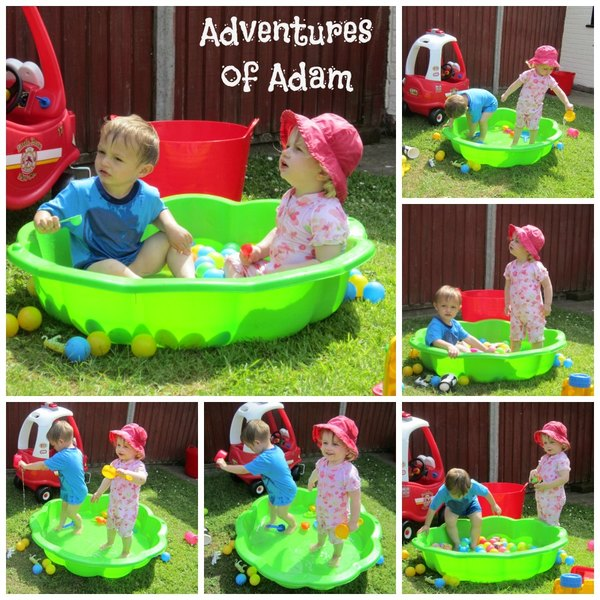 Adventures of Adam toddler paddling pool
