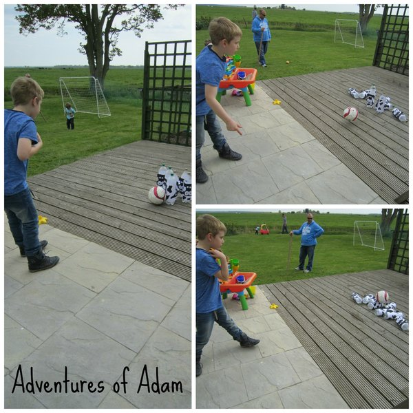 Adventures of Adam cow bottle skittles