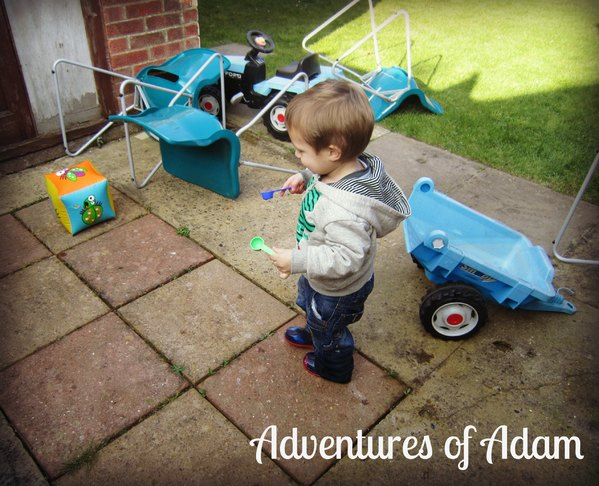 Adventures of Adam water play
