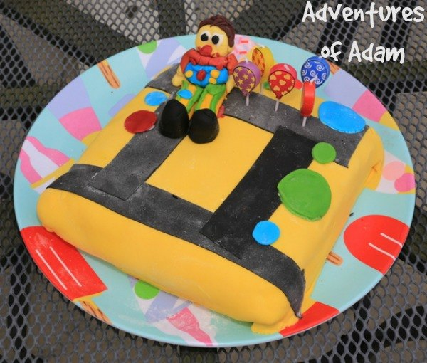 Adventures of Adam Mr Tumble birthday cake