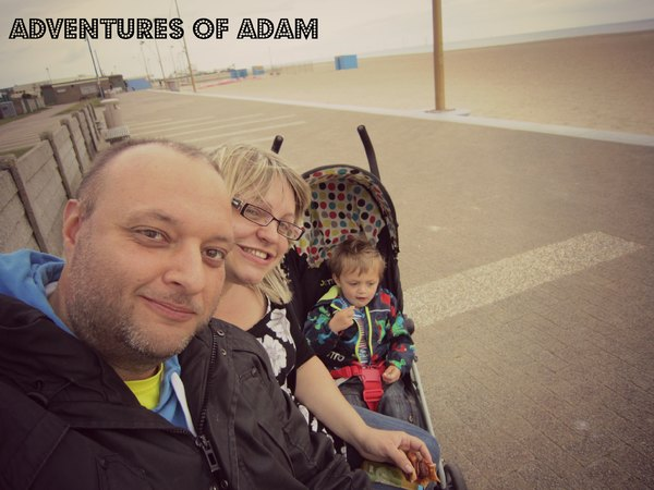 Adventures of Adam Great Yarmouth beach