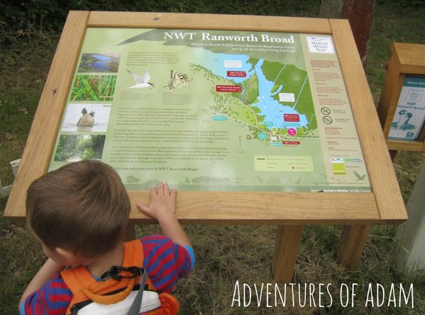 Adventures of Adam Ranworth Broad map
