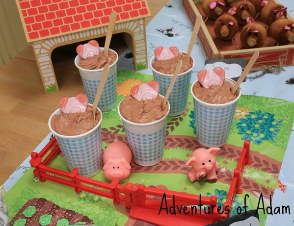 Adventures of Adam pigs in mud pigsty
