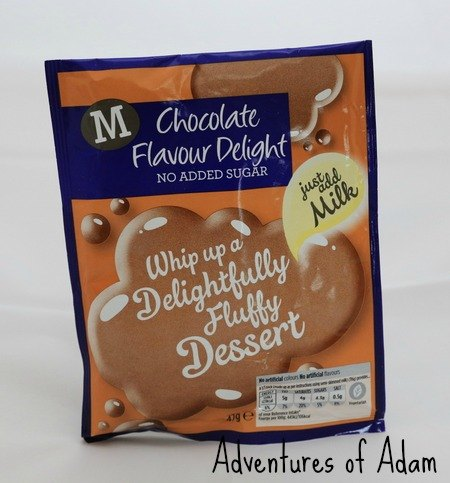 Adventures of Adam Morrisons Chocolate Flavour Delight