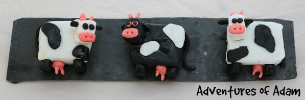 Adventures of Adam carrot cake cows