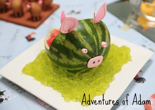 Adventures of Adam Watermelon pig