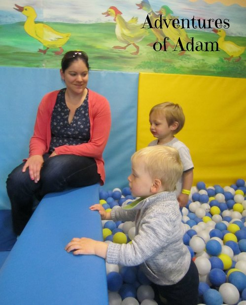 Adventures of Adam indoor ball pool Playbarn