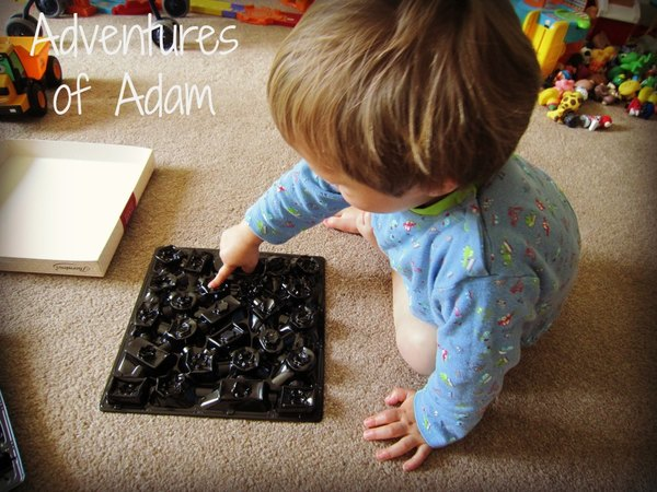 Adventures of Adam fine motor skills squash