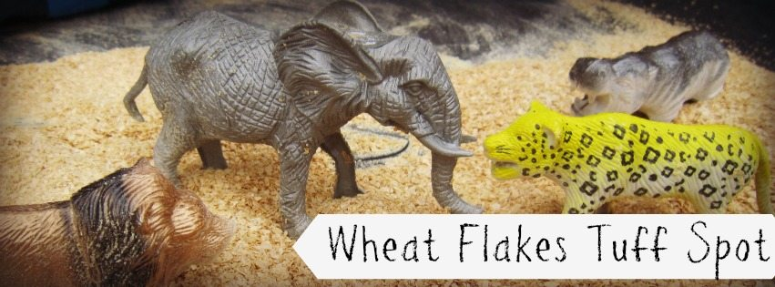 Wheat flakes Tuff Spot