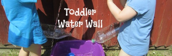 Toddler Water Wall
