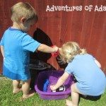 Adventures of Adam toddler water wall