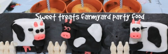 Farmyard theme party food: Sweet Treats