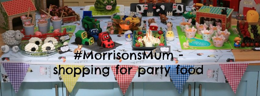 #MorrisonsMum – shopping for party food